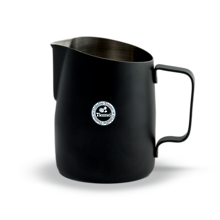 Tiamo Matte Black Milk frothing jugs