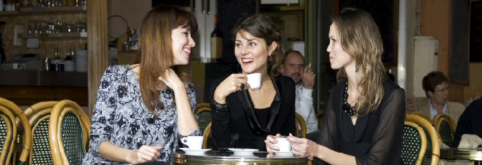 ladies in cafe 700 x 240
